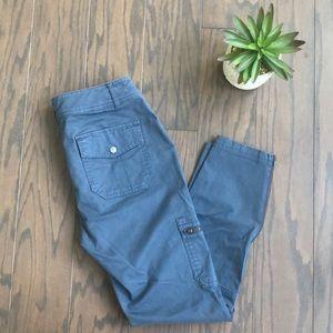Athleta Blue Cargo Pants SZ 8